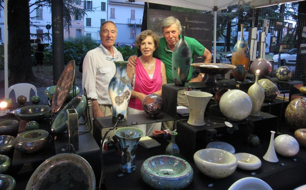 Faenza 2016 mit Paolo und Mariateresa Calzavara