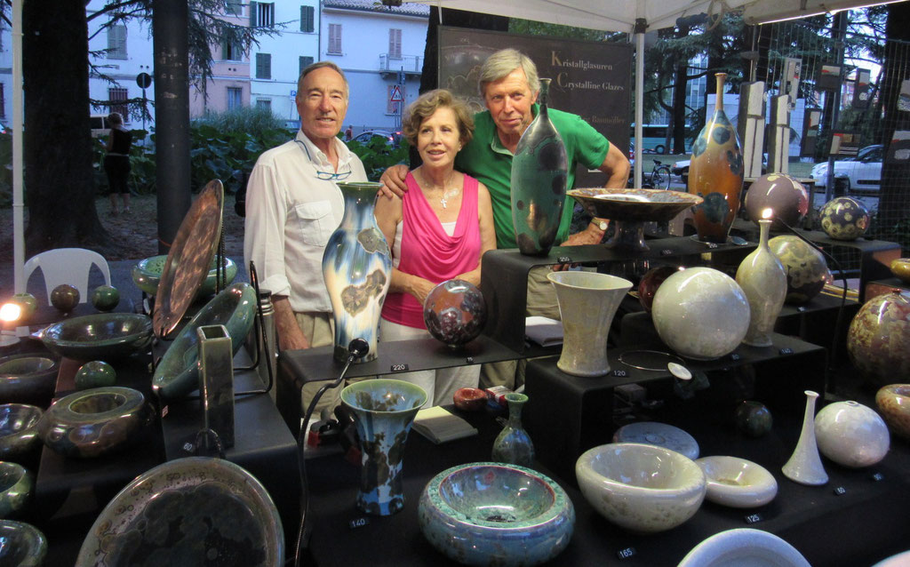Faenza 2016 with Paolo and Mariateresa Calzavara