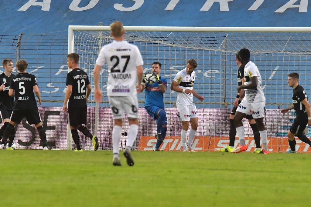 Wie so oft war diesmal wieder Andreas Leitner einer wichtiger Rückhalt im Team