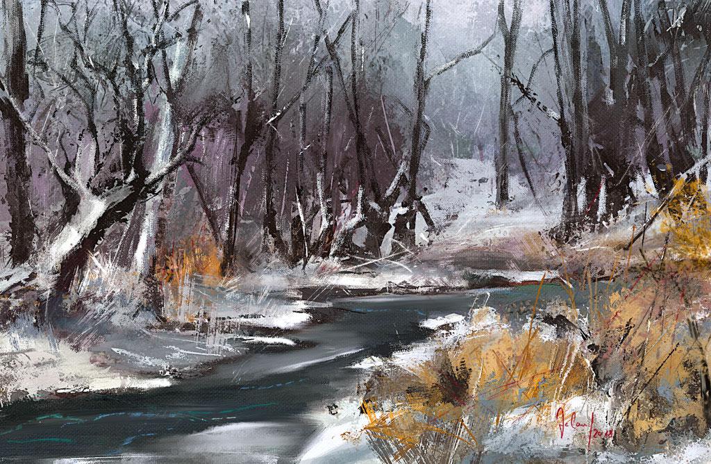 Winterwunderwald