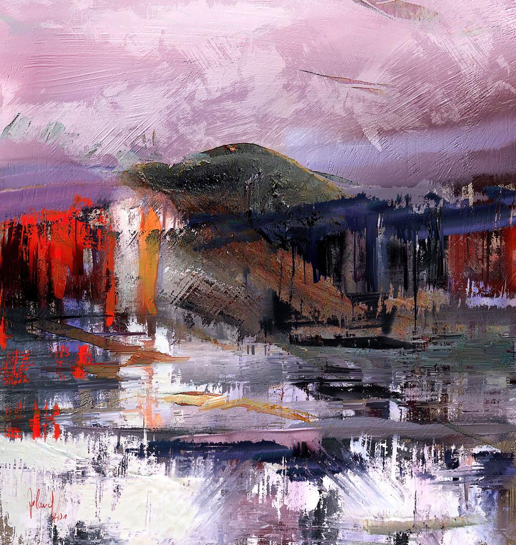 Approach to a Landscape