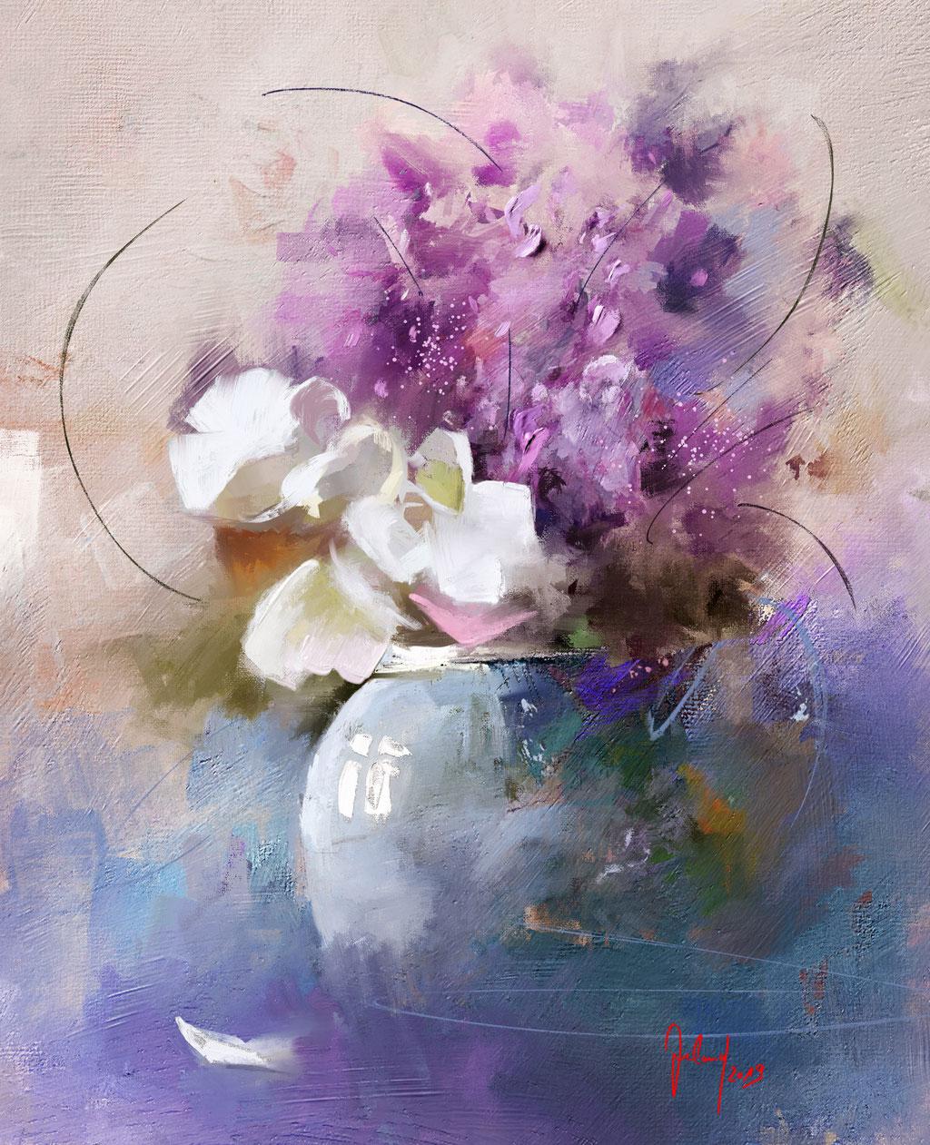 Die Blaue Vase