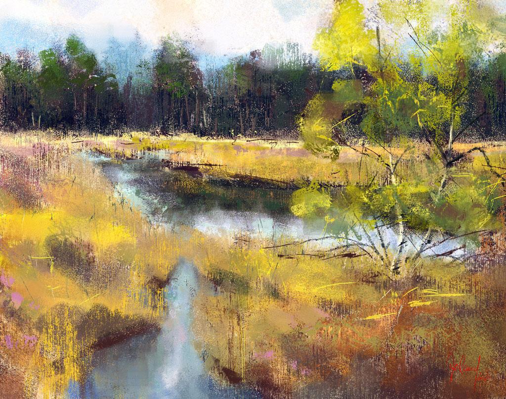 Landschaftsstudie