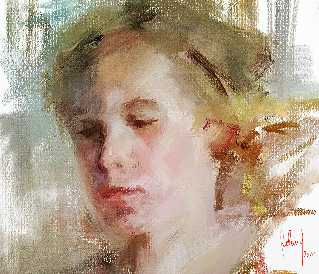 Portrait Study of a young woman