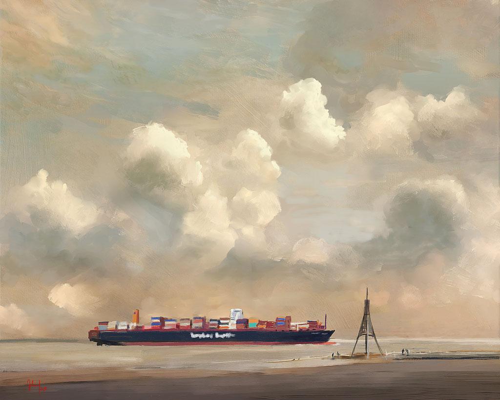 Kugelbarke, Cuxhaven