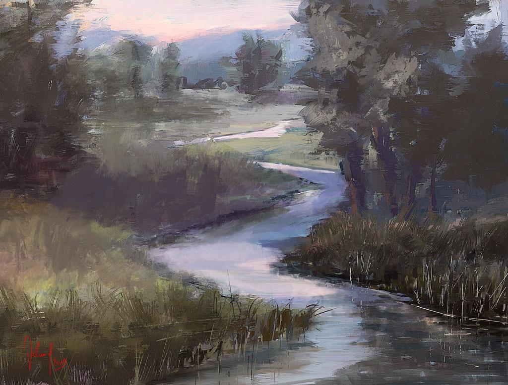 Flusslandschaft 2