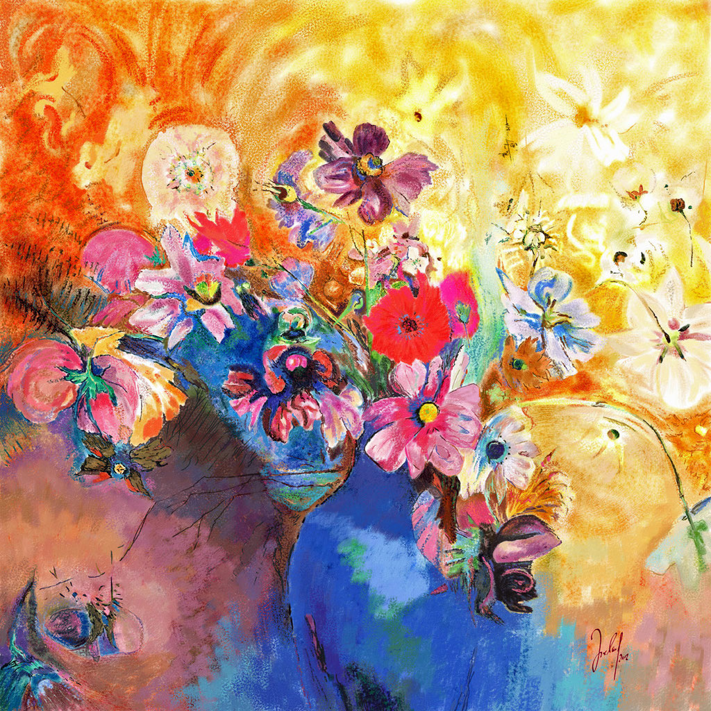 The dance of the flowers - Blumenwalzer