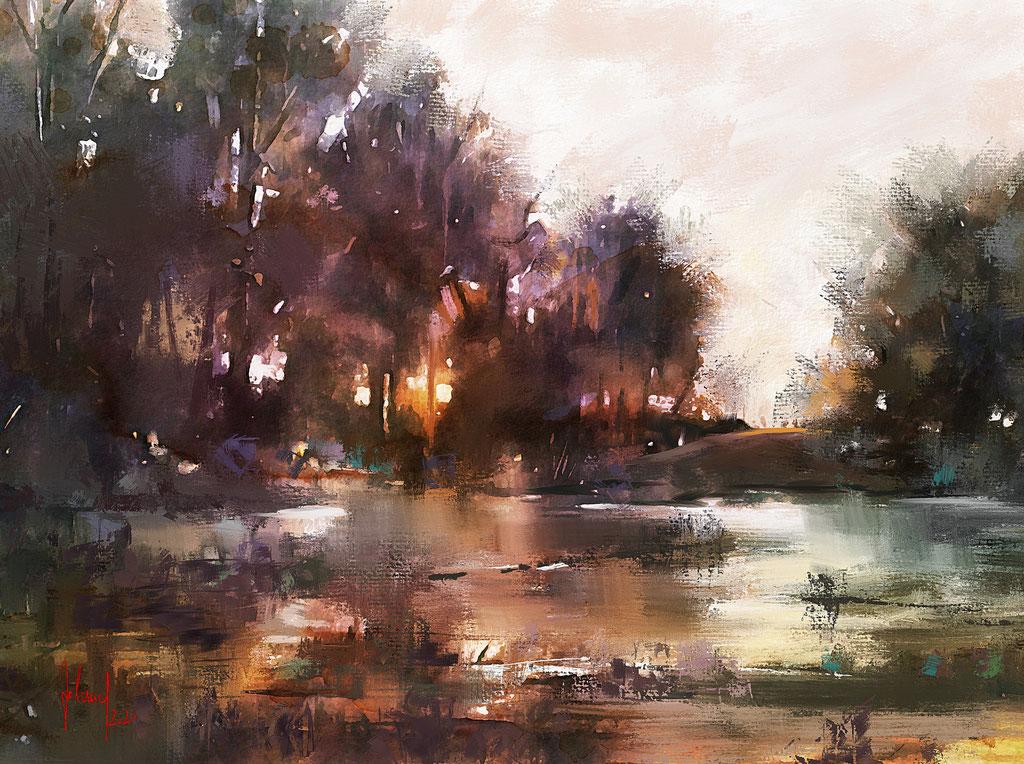 Landscape Study - Teufelsmoor