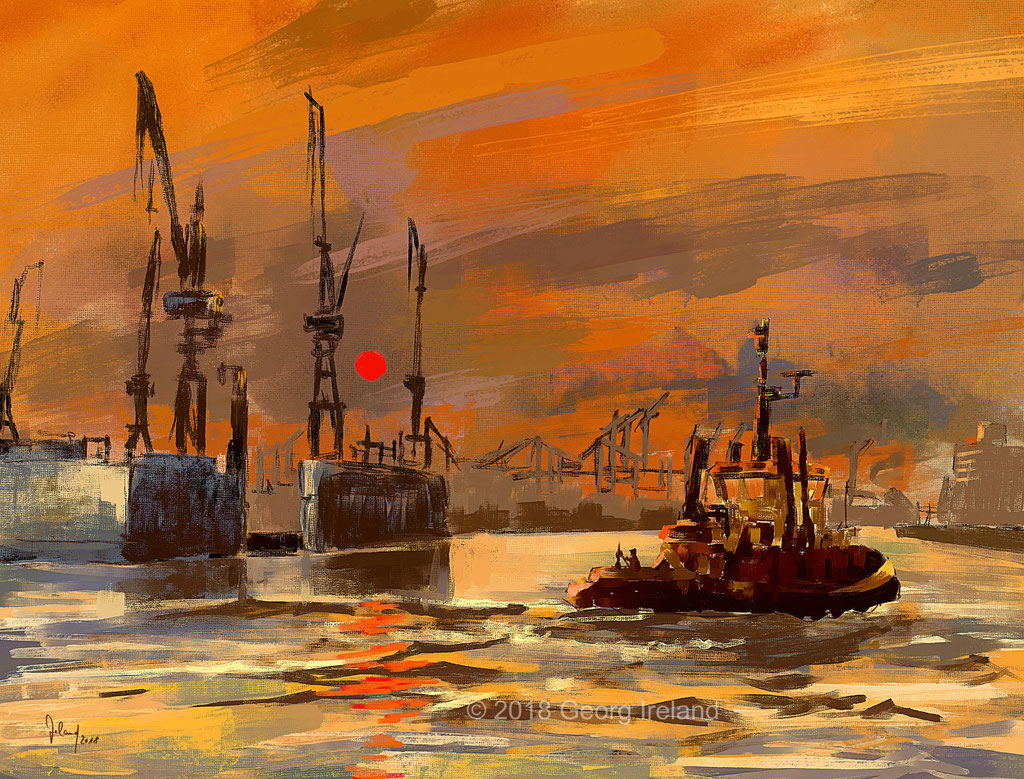 Hafen Hamburg 2