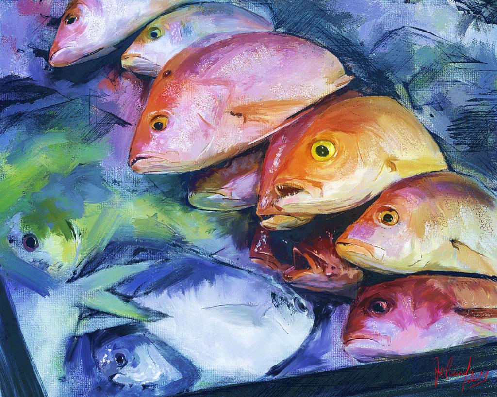 3 Uhr morgens - Fischmarkt