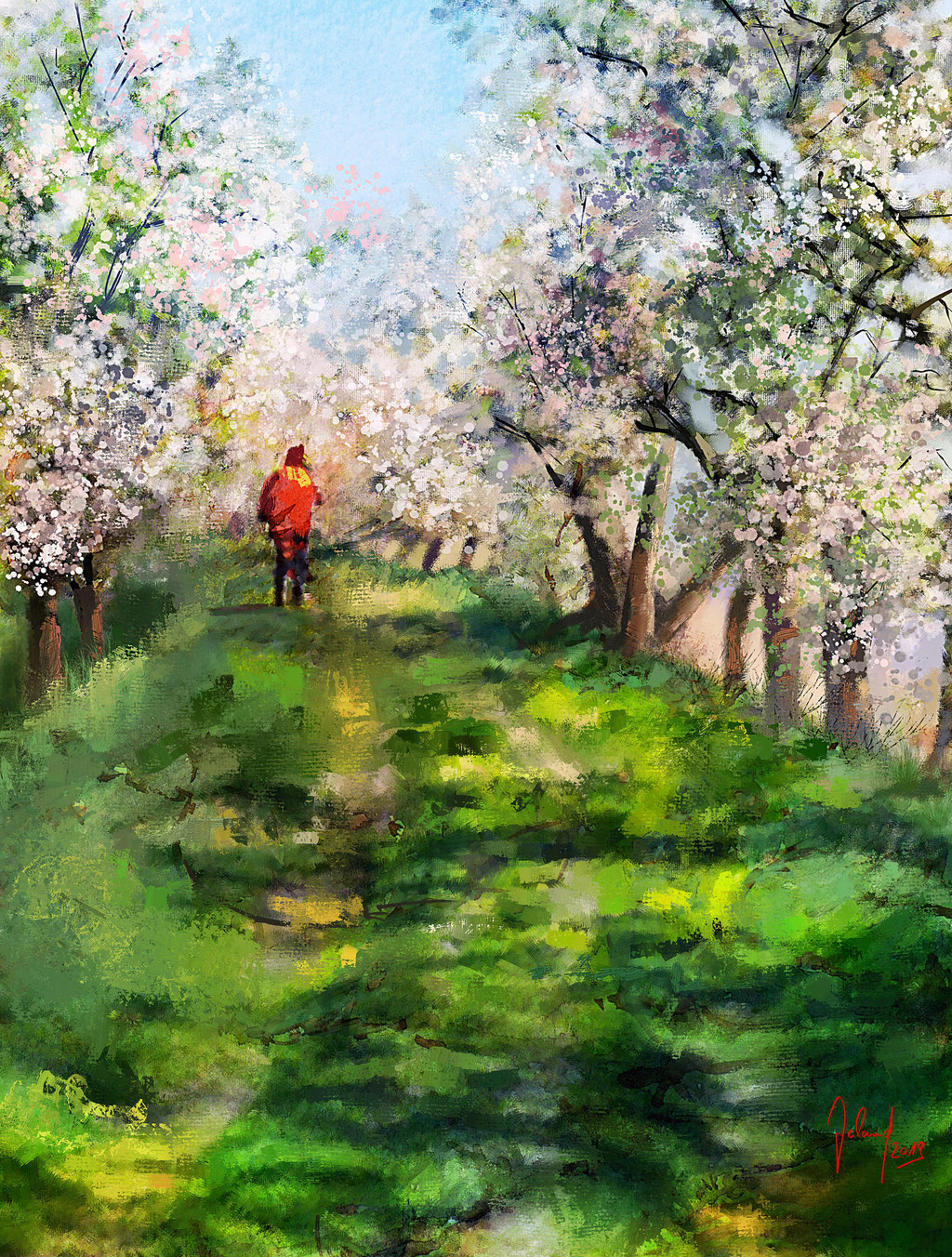 Frühlingsgrüße aus dem Alten Land