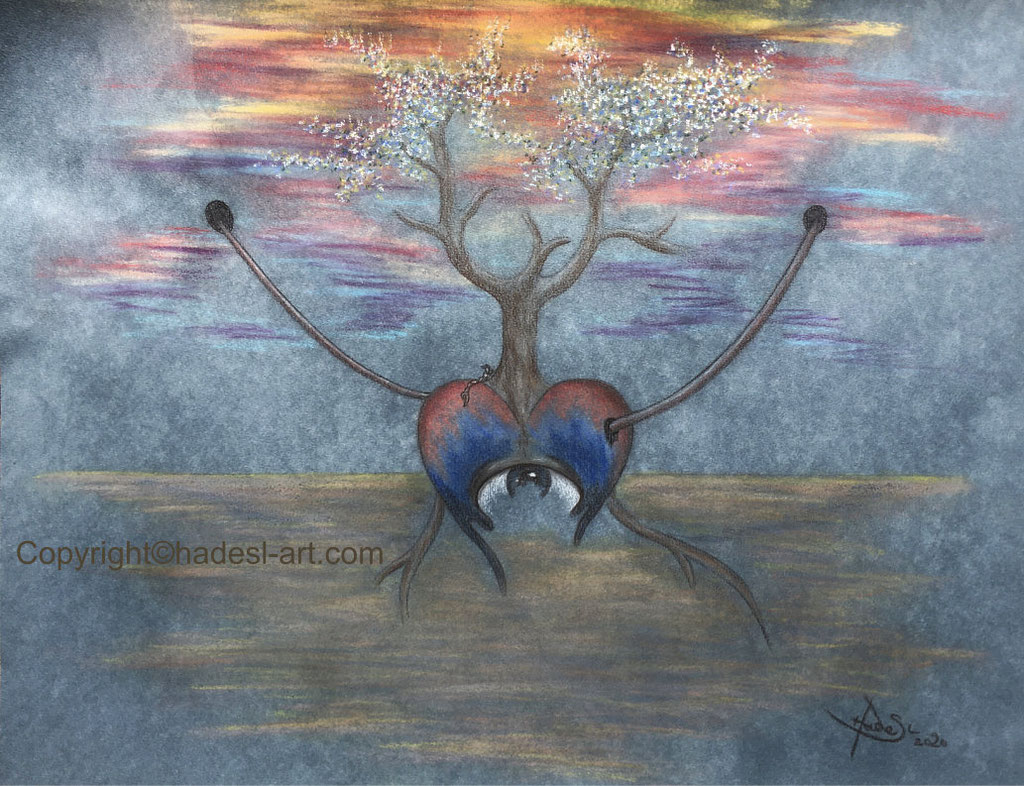 """Emotion""...Pastell 2020 (51x71 cm)"