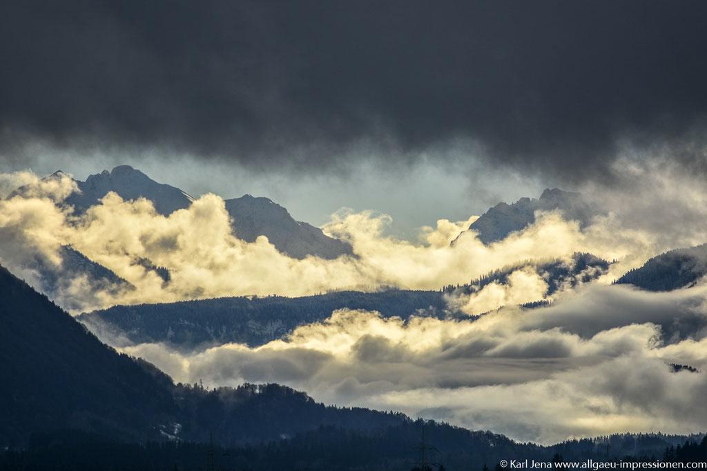 Dark December, Allgäuer Alpen, Widderstein