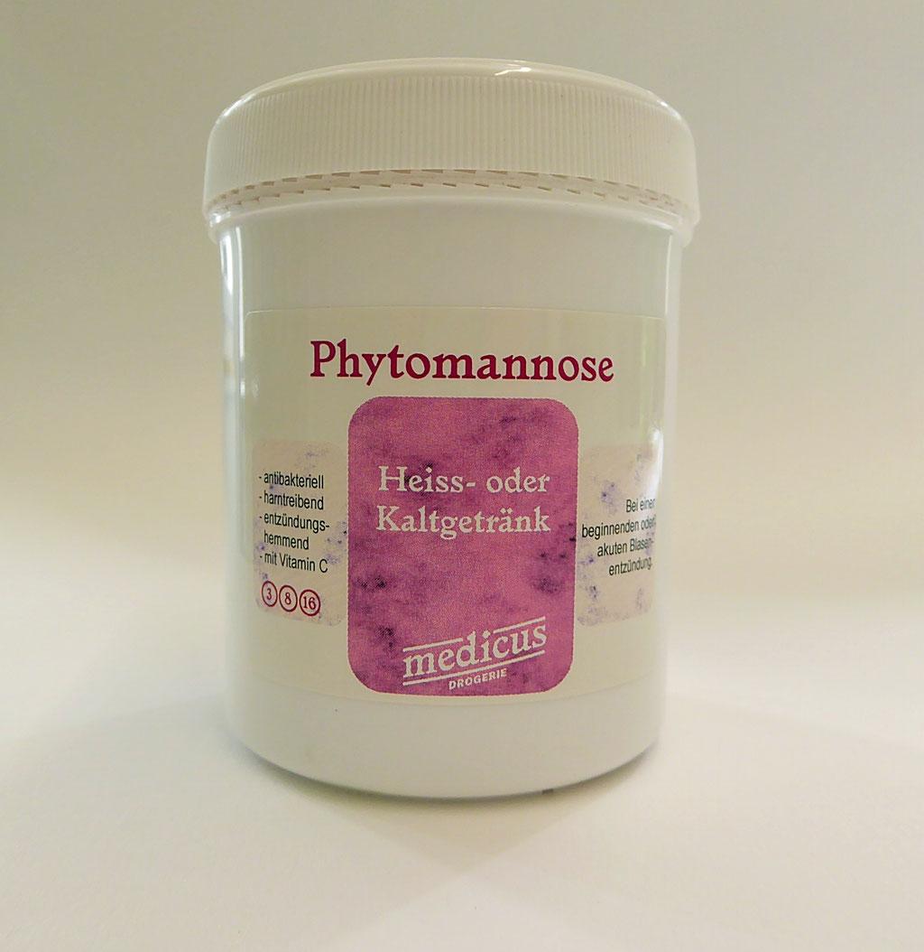 Phytomannose; Bei Blasen- und Nierenentzündungen