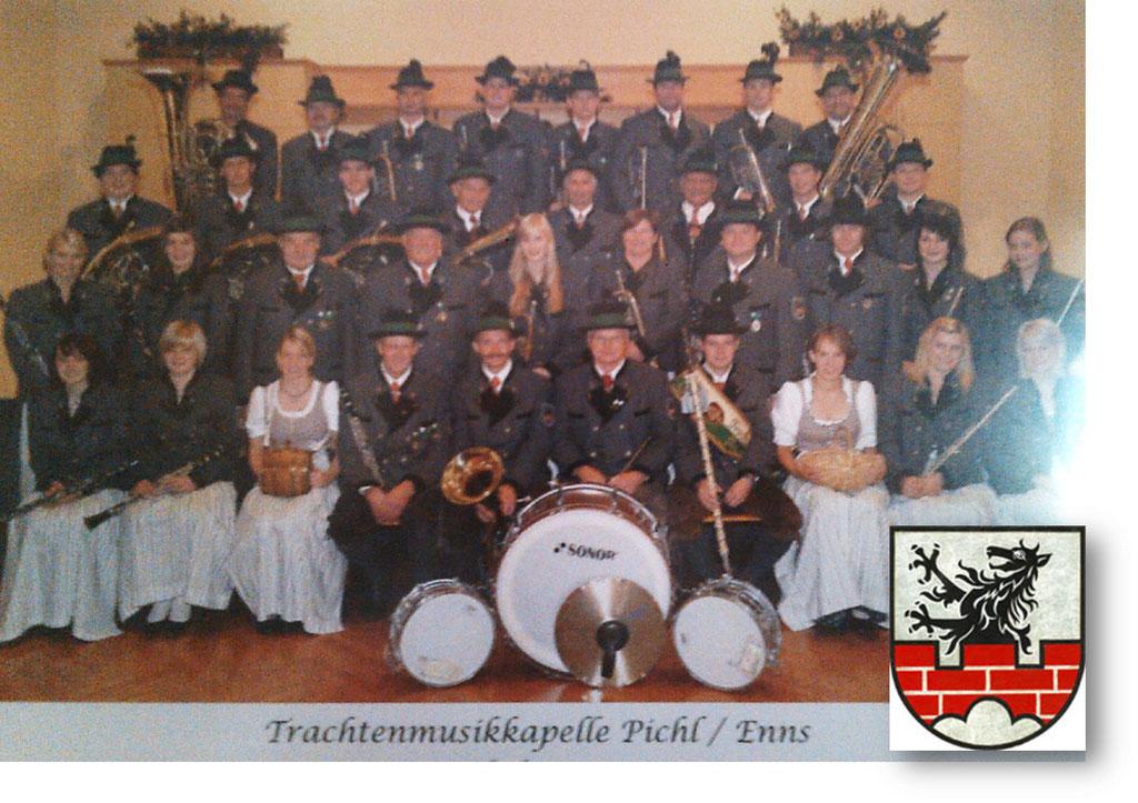 Trachtenmusikkapelle Pichl an der Enns beim 67. Arlberger Musikfest von 14. bis 16. Juli 2017 in Lech am Arlberg