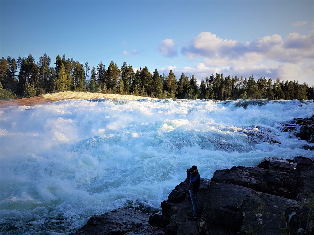 Storforssen Wasserfall Freilichtmuseum Schweden Skandinavien wolf78 #ProjektBlackwolf explore without no limits roadtrip offroad overland Travel Camping Overlandingnomads Dachzeltnomaden wolf78-overland.ch