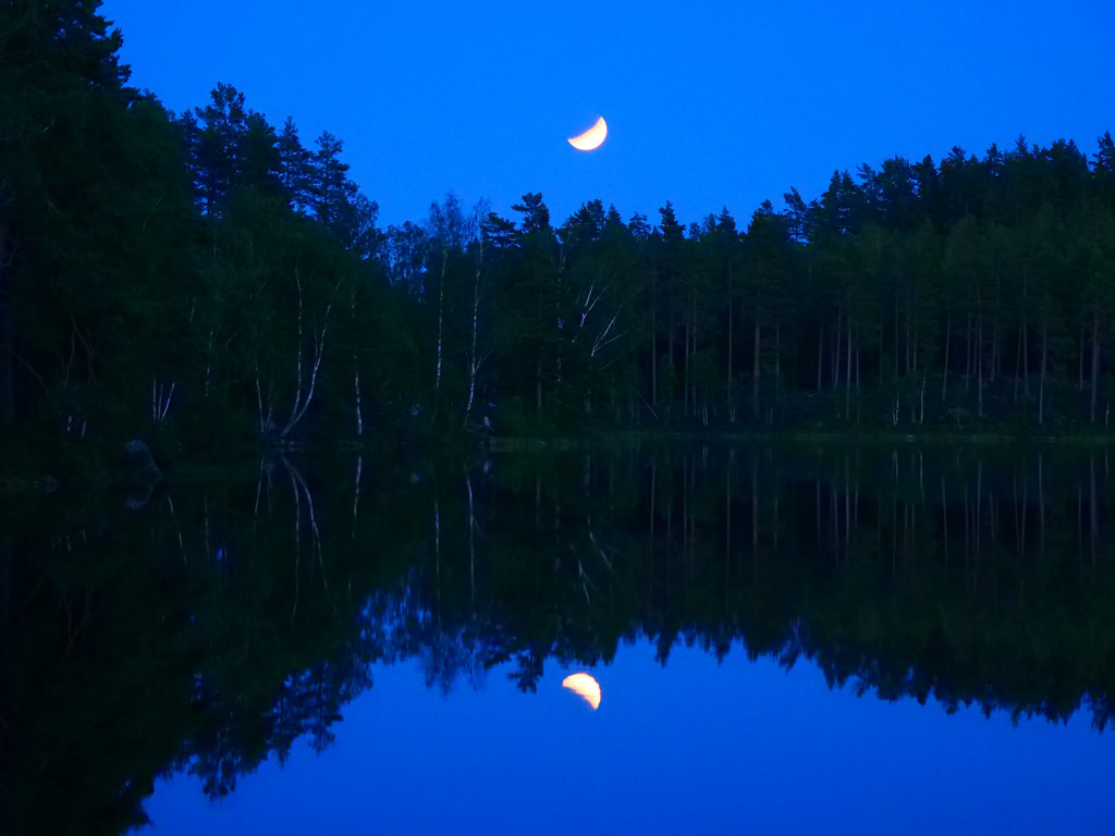 Schweden Mondfinsternis See overland Travel Camping #ProjektBlackwolf Skandinavien wolf78  explore without no limits roadtrip offroad Overlandingnomads Overlandbound wolf78-overland.ch