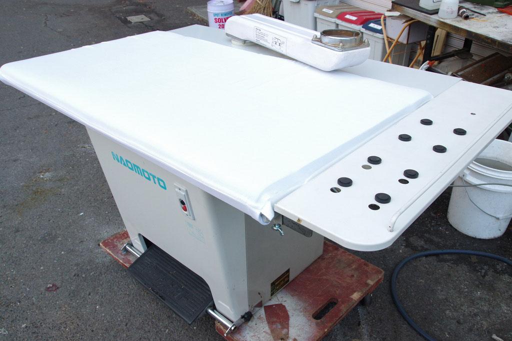 FB-100 白 バキューム台   ナオモト NAOMOTO アイロン台