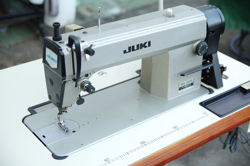 JUKI DDL-5570 新品サーボモーター仕様 工業用ミシン 本縫い自動糸切りミシン