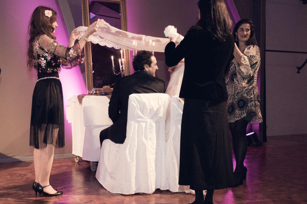 Persiche Zeremonie zur Eheschließung