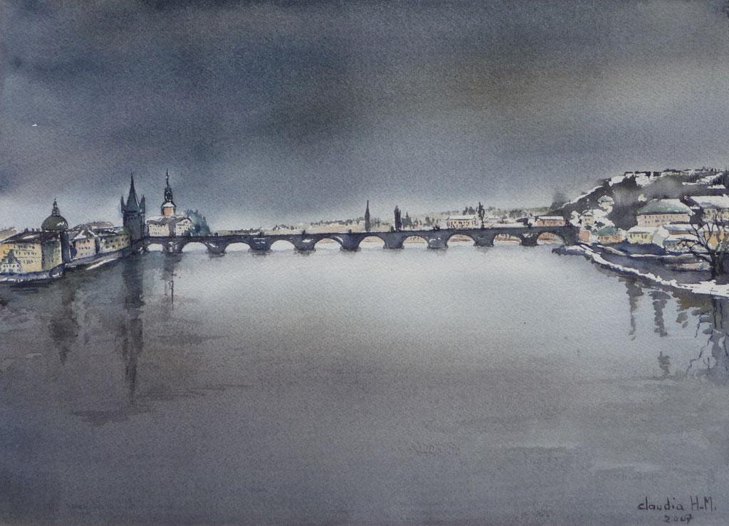 pont gris -  -