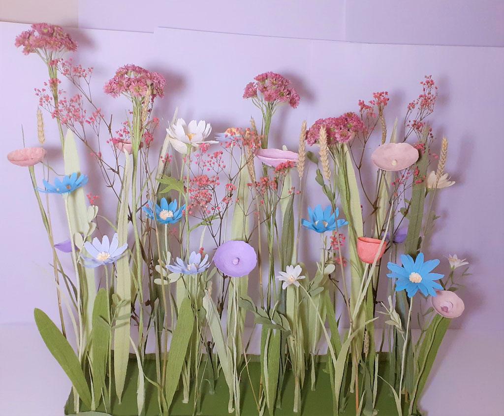 L'art de fleurs en papier-Composition florale par Création Maria Salvador