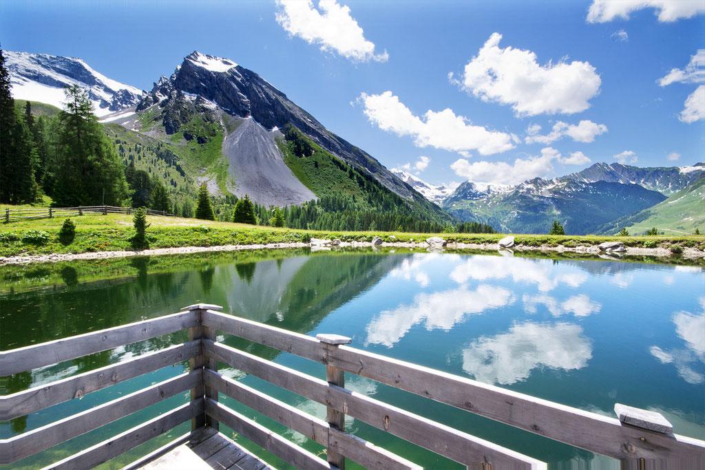 Bergsee bei der Grieralm