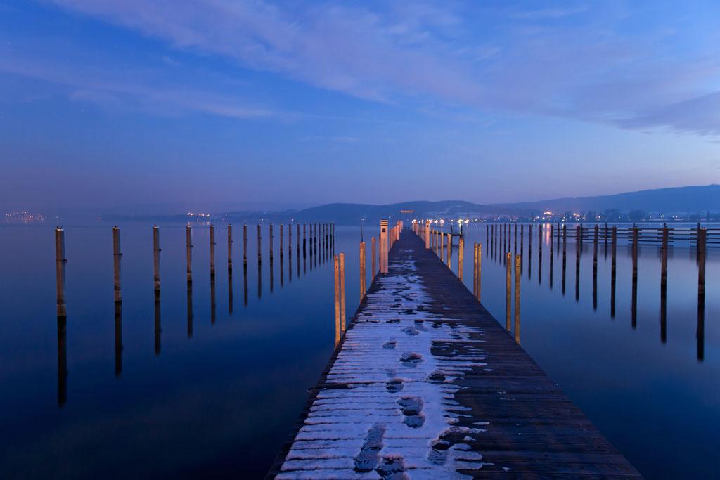Blaue Stunde am Bodensee   © Diana Klar Fotografie