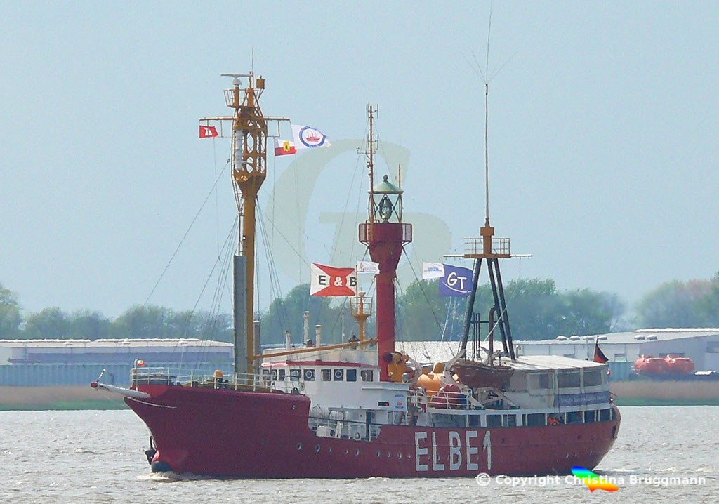 Feuerschiff BÜRGERMEISTER O´Swald II (Elbe 1) 09.05.2019 / BILD 1