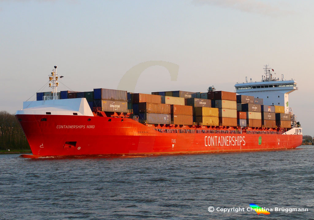 LNG Containerschiff CONTAINERSHIPS NORD, NOK 13.04.2019,   BILD 3