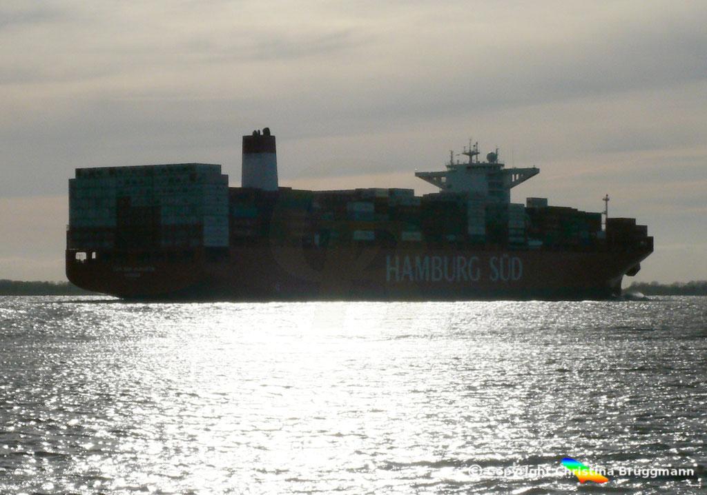 CAP SAN AUGUSTIN auf der Elbe 27.04.2015, BILD 5