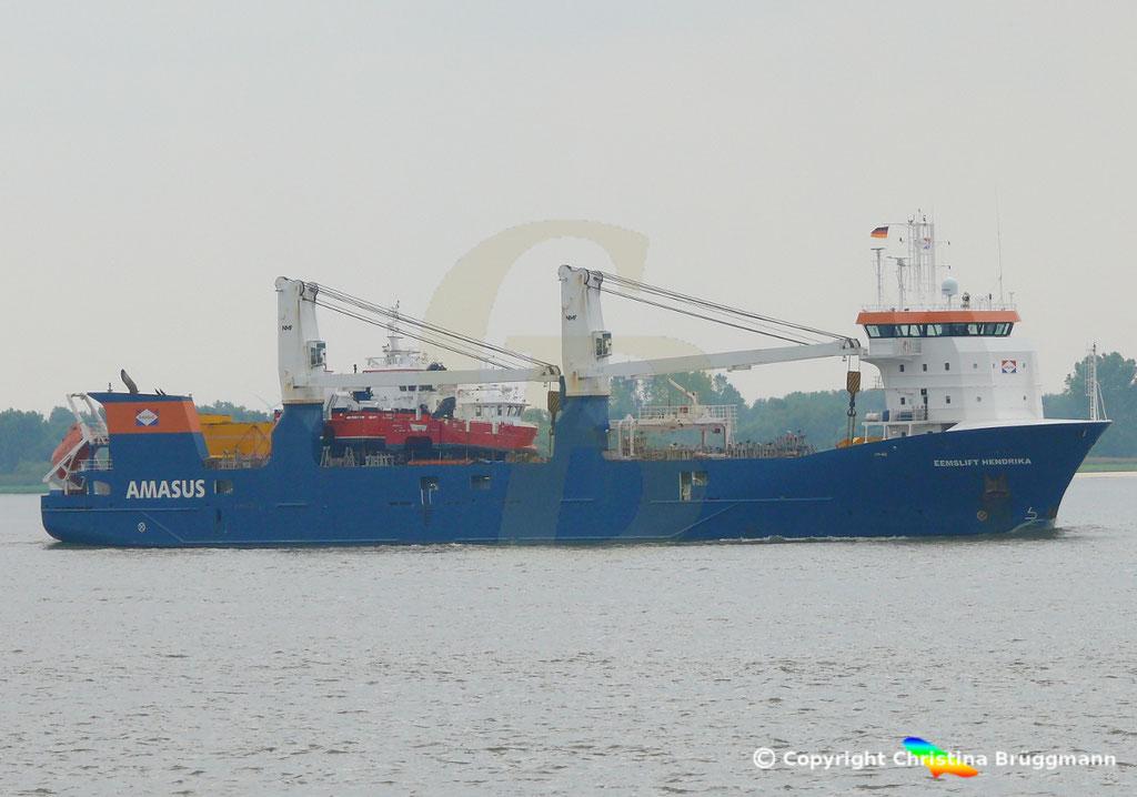 EEMSLIFT HENDRIKA auf der Elbe 19.08.2018 / Bild 7