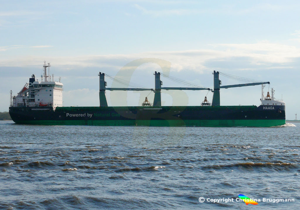 Bulk Carrier/Mehrzweckfrachter HAAGA, Elbe 03.04.2019,  BILD 14