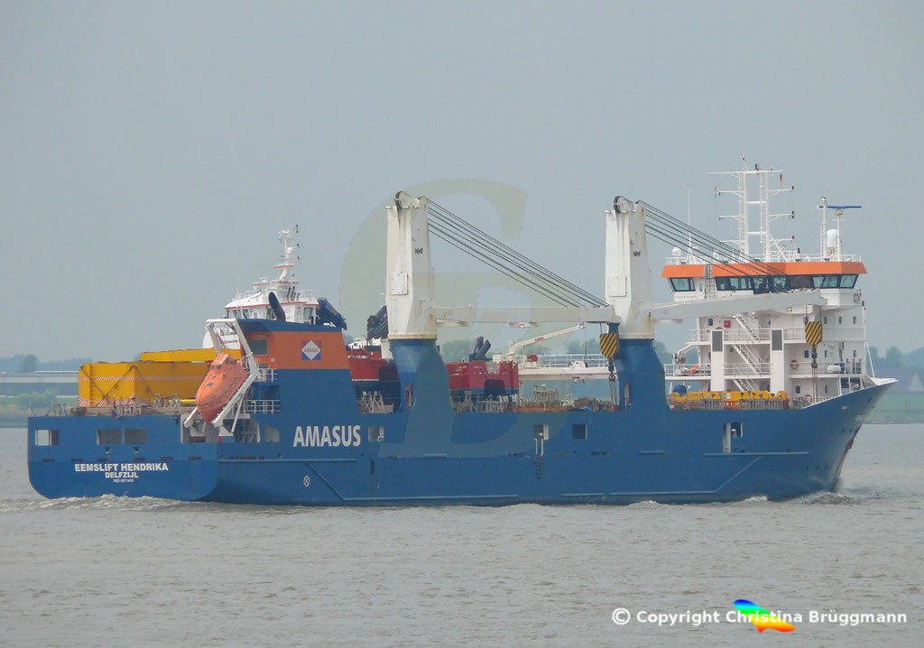 EEMSLIFT HENDRIKA auf der Elbe 20.08.2018 / Bild 9