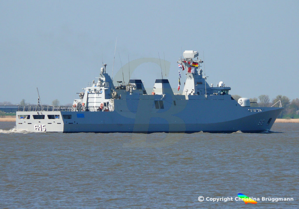 Royal Moroccan Navy Sigma class frigates / Frégates marocaines multimissions Sigma - Page 25 Image