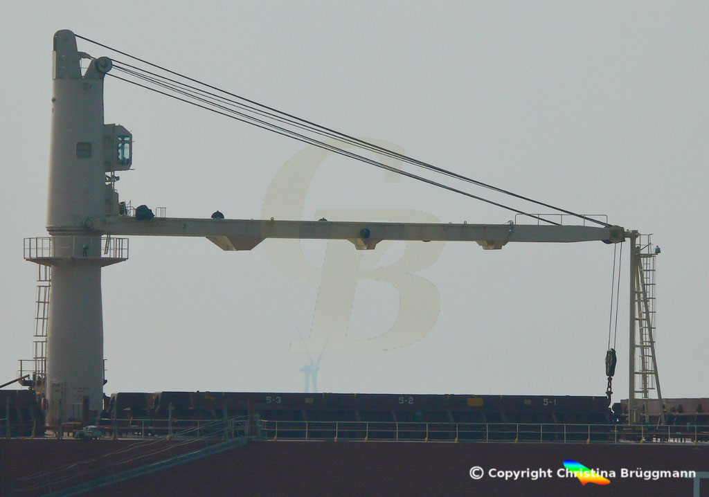 Bulk Carrier FEDREAL KIVALINA, Elbe 30.04.2019 / Bild 4