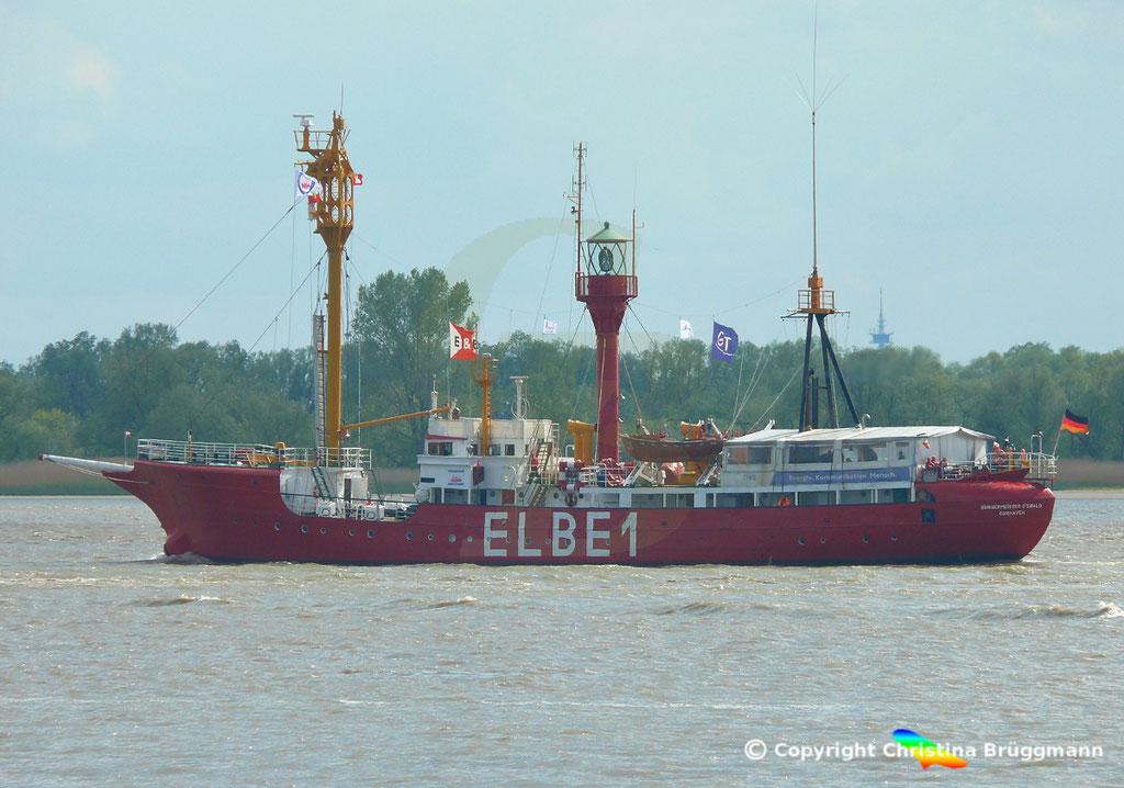 Feuerschiff BÜRGERMEISTER O´Swald II (Elbe 1) 09.05.2019 / BILD 3