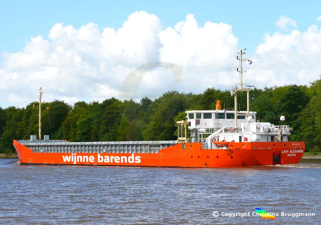 Mehrzweckschiff LADY ALEXANDRA, NOrd-Ostsee-Kanal 07.05.2019 /  BILD 3