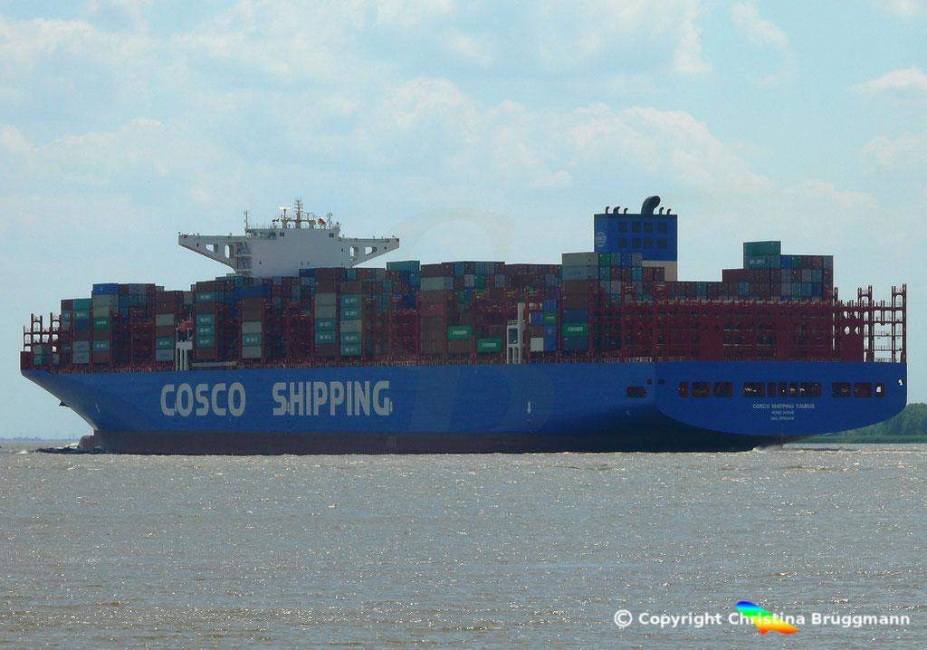 Containerschiff COSCO SHIPPING TAURUS, 25.05.2018, BILD 5