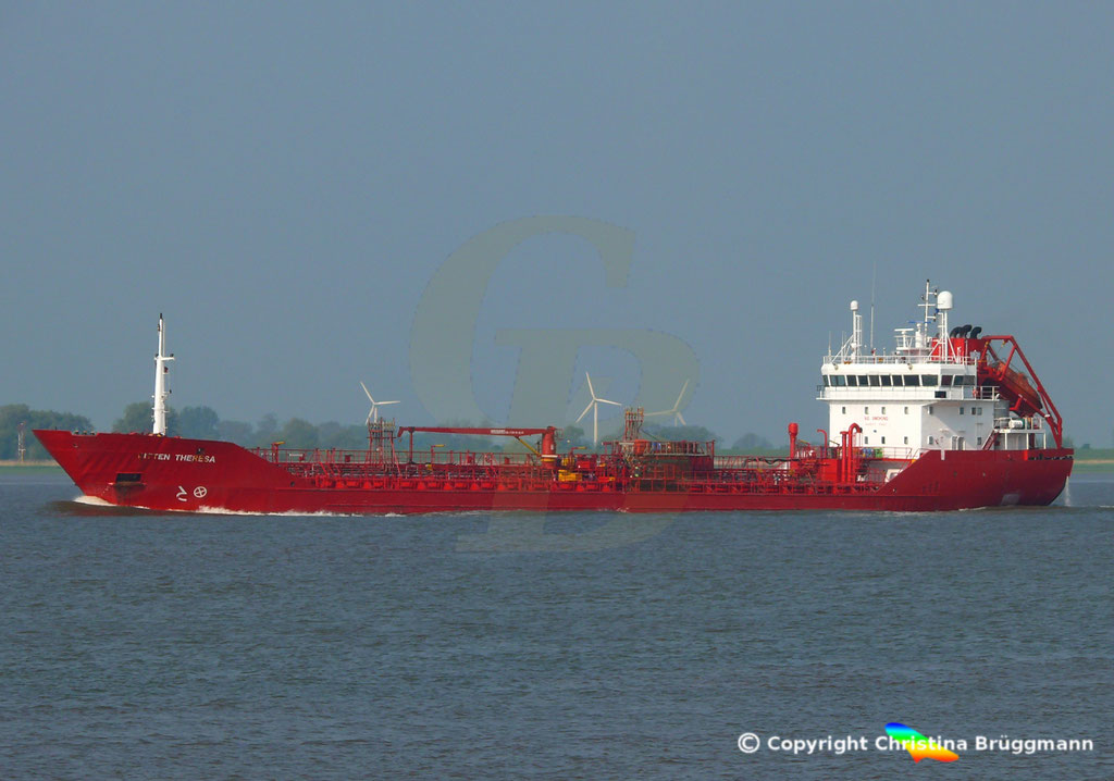 Tanker BITTEN THERESA, Elbe 13.05.2018,  BILD 3