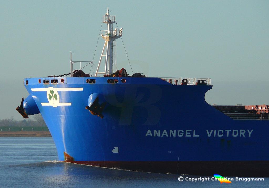 Bulk Carrier ANANGEL VICTORY, Elbe 03.01.2019, BILD 6