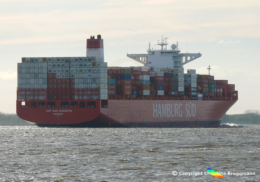 CAP SAN AUGUSTIN auf der Elbe 27.04.2015, BILD 6