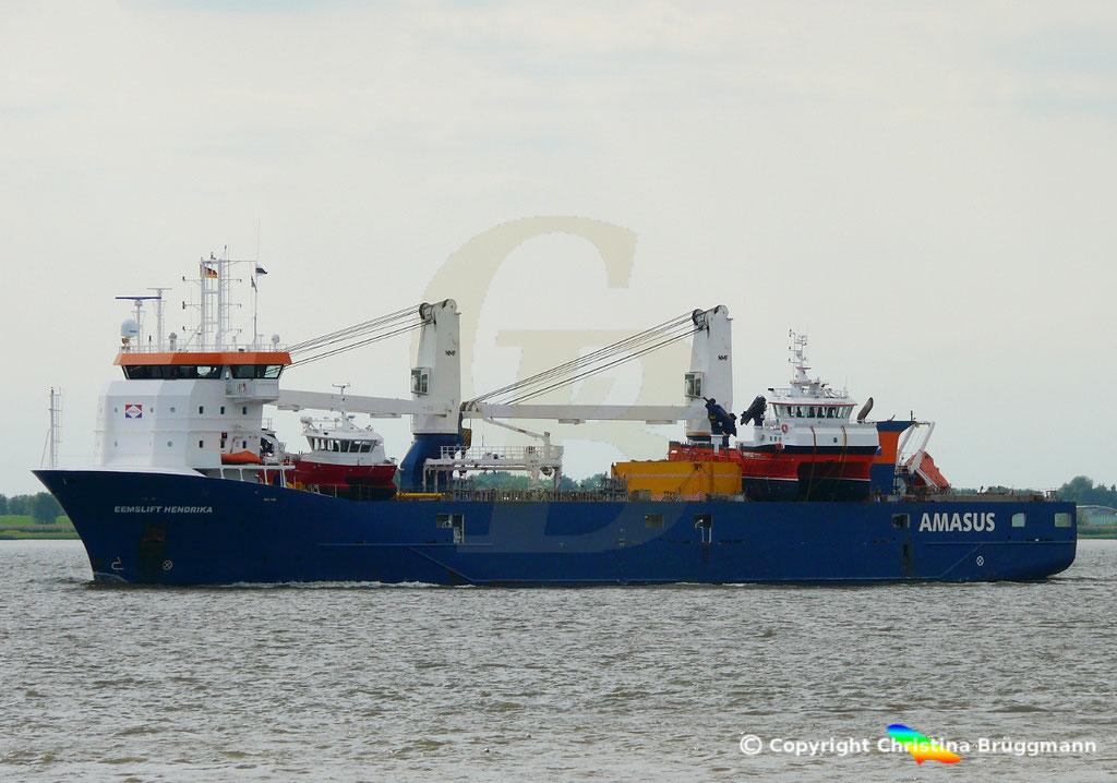 EEMSLIFT HENDRIKA auf der Elbe 18.08.2018 / Bild 3
