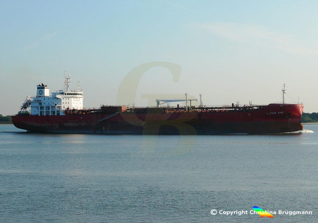 Tanker HAFNIA ANE, Elbe 05.09.2018,  BILD 4