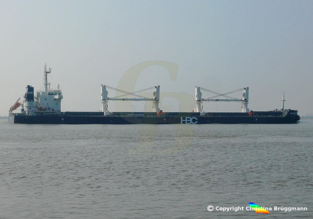 HBC Bulk Carrier VENTURE LUCK, Elbe 30.03.2019,  BILD 5