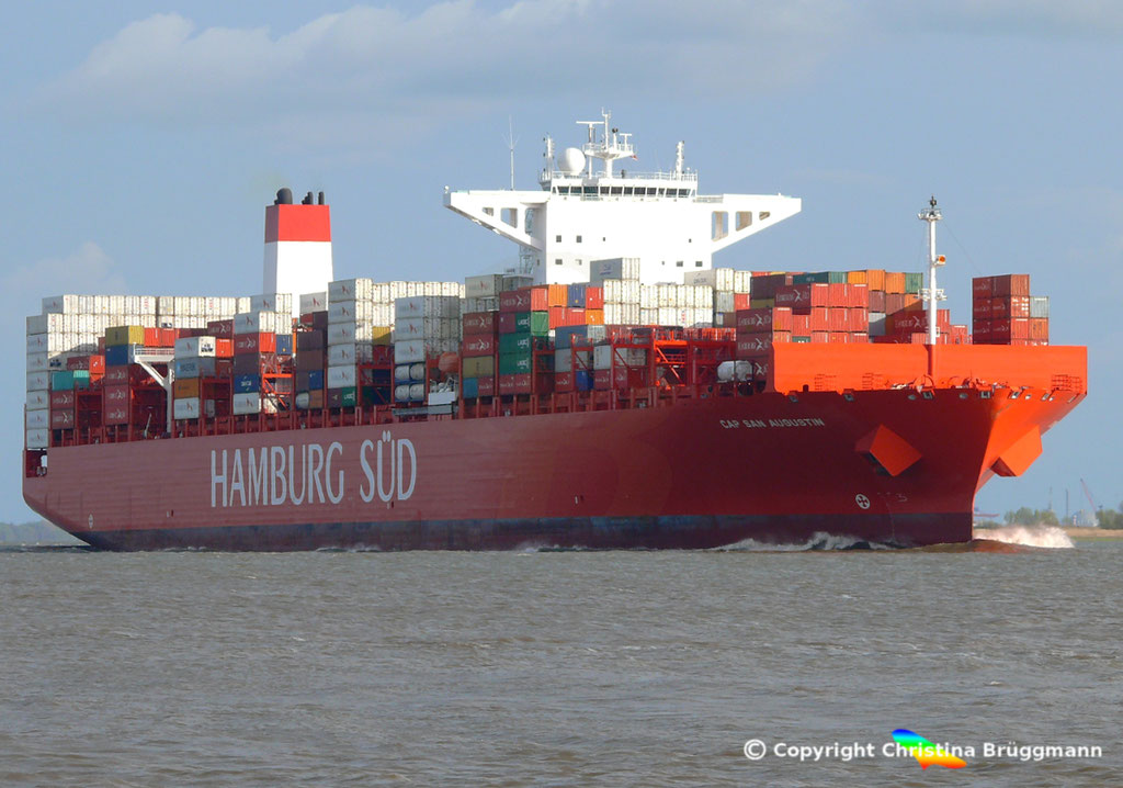 CAP SAN AUGUSTIN auf der Elbe 27.04.2015, BILD 3