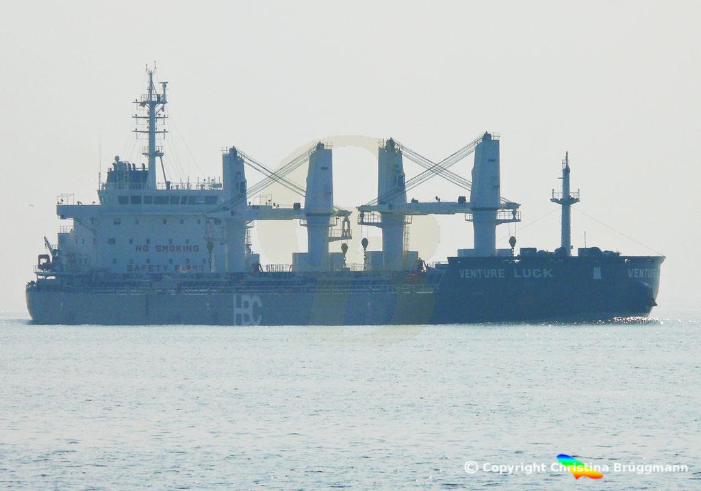 HBC Bulk Carrier VENTURE LUCK, Elbe 30.03.2019,  BILD 1