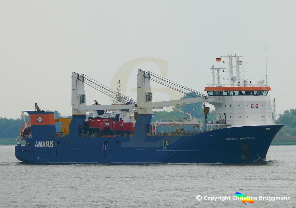EEMSLIFT HENDRIKA auf der Elbe 19.08.2018 / Bild 6