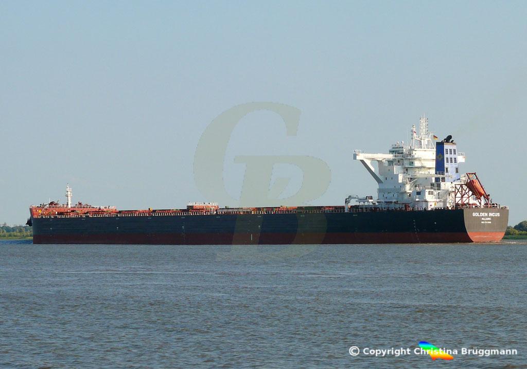 Bulk Carrier GOLFEN INCUS, Erstanlauf Hamburg, 19.07.2018, Bild 2