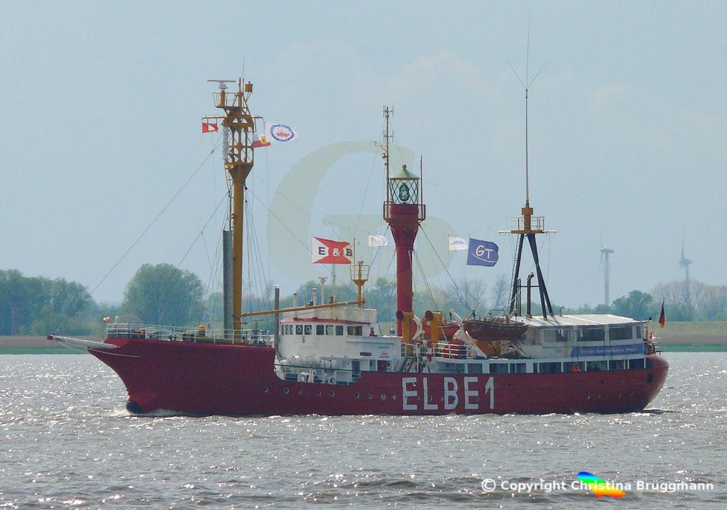 Feuerschiff BÜRGERMEISTER O´Swald II (Elbe 1) 09.05.2019 / BILD 2